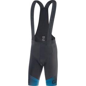 GORE WEAR Fade+ Bib Shorts Men black/sphere blue